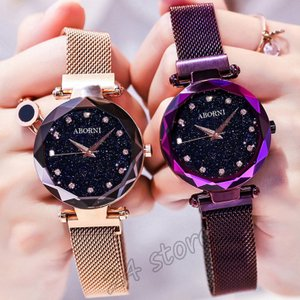腕時計 レディース おしゃれ ウォッチ 星空 人気 星腕時計 アクセサリー 磁気メッシュバンド 誕生日 プレゼント ギフト