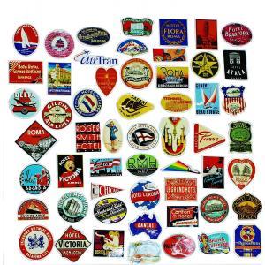 こちらの商品は旅行カバンやPCなどにマストなステッカーになります。各国のホテルやエアラインのマークな...