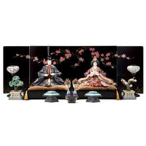 リヤドロ 雛人形 Lladro ひな人形 雛 平飾り 親王飾り ハイポーセリン フルセット h313-01001939-40-FS|2508-honpo