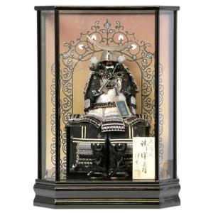 五月人形 鎧飾り ケース飾り 鎧 正絹縅 5-t9413|2508-honpo