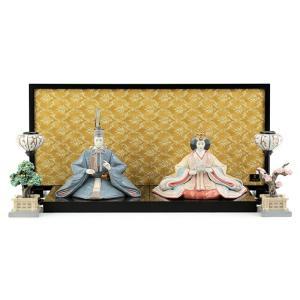 リヤドロ 雛人形 Lladro ひな人形 雛 平飾り 親王飾り フルセット 磁器人形 ポーセリン h233-8110681307-fs 2508-honpo
