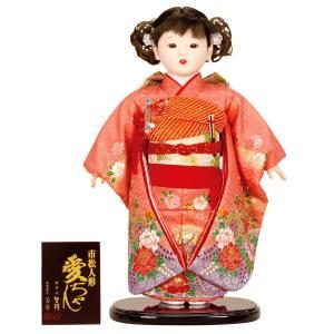 【2019年度新作雛人形】【おすすめ人気工房】 人気の人形師 公司作の市松人形です。  ふわふわと結...