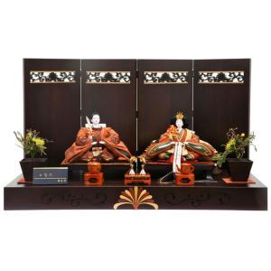 雛人形 ひな人形 藤匠作 親王飾り 平飾り かなた goto-kanata|2508-honpo