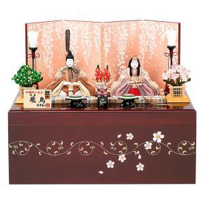 雛人形 真多呂 ひな人形 雛 木目込人形飾り コンパクト収納飾り 親王飾り 真多呂作 本金 飛鳥雛セット 正絹 伝統的工芸品 h033-mt-1889 2508-honpo