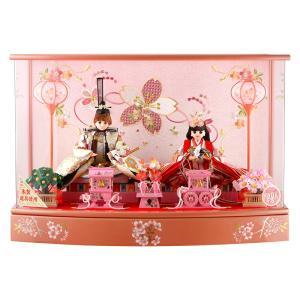 ひな人形 雛人形 久月 リカちゃん 親王飾り ケース飾り h273-ri-277|2508-honpo