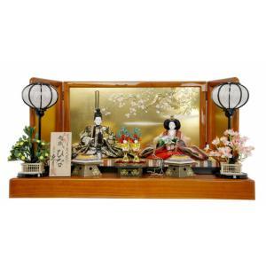 ひな人形 雛人形 久月 親王飾り 平飾り h243-k-s22531|2508-honpo