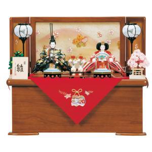 雛人形 ひな人形 平安豊久 収納飾り 親王飾り やましな h243-mo-304376|2508-honpo
