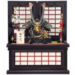 五月人形 平安豊久 兜飾り 収納飾り 鎌倉 13号 h245-mo-502729|2508-honpo