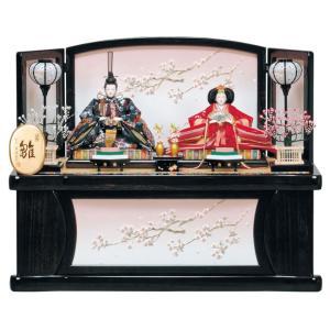 雛人形 ひな人形 平安豊久 収納飾り 親王飾り ゆかり h243-mo-304432|2508-honpo