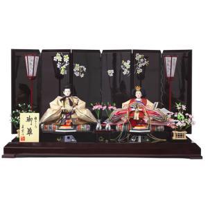 ひな人形 雛人形 親王飾り 平飾り h233-sb-sakura27b|2508-honpo