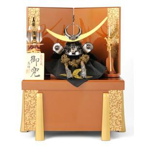 五月人形 兜飾り 収納飾り 高輝作 御兜 h235-fz-61ss-266|2508-honpo
