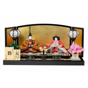 雛人形 ひな人形 親王飾り 平飾り 十二衣雛 悠久 h243-aka-92|2508-honpo