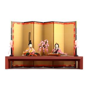 ひな人形 雛人形 親王飾り 平飾り 木目込み h243-mi-kt-3060d|2508-honpo