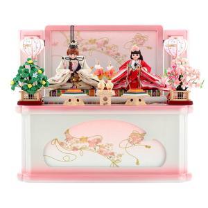 ひな人形 雛人形 久月 リカちゃん プレミアム 親王飾り 収納飾り h273-ri-245|2508-honpo