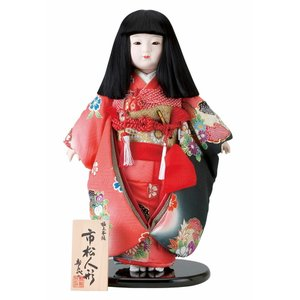 雛人形 スキヨ ひな人形 市松人形 寿喜代作 華鶴13-32...
