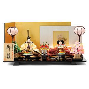 雛人形 ひな人形 親王飾り 平飾り 十二単 天使のはごろも h243-ss-40a-101-8|2508-honpo