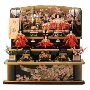 ひな人形 雛人形 三段飾り 五人飾り h273-ss-43a-23|2508-honpo