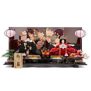 ひな人形 千匠 雛人形 平飾り 親王飾り|2508-honpo