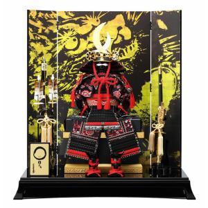 五月人形 鎧飾り 山本寛斎作 日ごま 龍神 7号 h245-fz-62yk504|2508-honpo