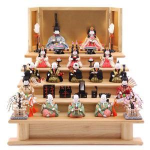 ひな人形 原孝洲 雛人形 五段飾り 十五人飾り|2508-honpo