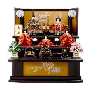 雛人形 ひな人形 三段飾り 五人飾り 梓 雅なこころ h263-sb-azusa|2508-honpo