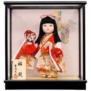 雛人形 吉徳大光 ひな人形 雛 ケース飾り 浮世人形 福鼓 h033-ys-343524|2508-honpo