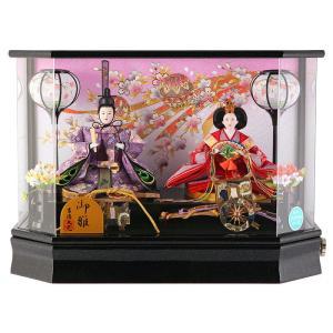 雛人形 ひな人形 吉徳大光 親王飾り ケース飾り h303-yscp-322097|2508-honpo