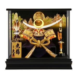 五月人形 久月 兜 ケース飾り 上杉謙信 h265-kcp-k784-nr|2508-honpo