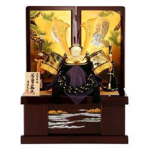 五月人形 吉徳 着用兜飾り 収納飾り h265-yscp-536851|2508-honpo