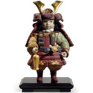 【世界限定3500体】【リヤドロの五月人形】 高級磁器人形メーカーとして名高いリヤドロより、限定生産...