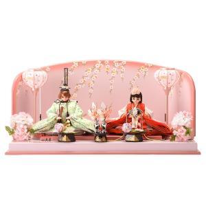 ひな人形 雛人形 久月 リカちゃん 親王飾り h283-k-ri-2716|2508-honpo