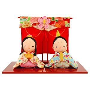 2019年度新作 雛人形 とっても愛らしいお雛様の登場です。 雛人形というと、通常左にお殿様・右にお...