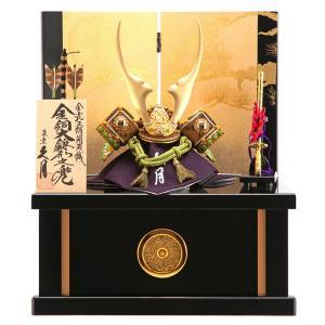 五月人形 久月 兜収納飾り 金銅大鍬形之兜 h295-kcp-1016nr|2508-honpo