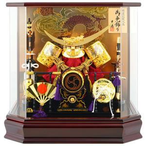 五月人形 吉徳 兜ケース飾り 兜飾り 特選伝統工芸 アクリルケース h285-yscp-537227as|2508-honpo