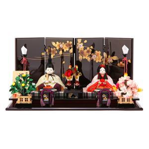 雛人形 コンパクト ひな人形 雛 木目込人形飾り 平飾り 親...