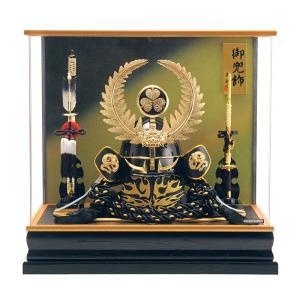 五月人形 徳川家康 着用 兜ケース飾り 兜飾り 藤翁作 着用徳川 アクリルケース h305-fn-155-753|2508-honpo