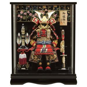 五月人形 鎧ケース飾り 鎧飾り 清雲斉作 4号 h305-fz-5710-78-002|2508-honpo