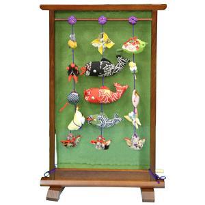 五月人形 久月 つるし飾り さげもん 端午のつるし飾り 衣桁型 h305-k-fhb-15 K-152|2508-honpo