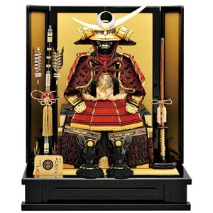 五月人形 上杉謙信公 着用 鎧平飾り 鎧飾り 一龍作 上杉着用鎧 h305-mm-030|2508-honpo