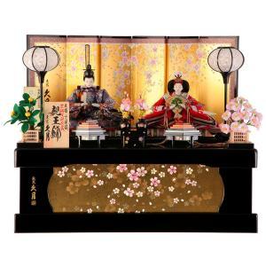 雛人形 久月 ひな人形 雛 コンパクト収納飾り 親王飾り 束...