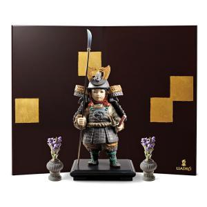 【リヤドロの五月人形】 高級磁器人形メーカーとして名高いリヤドロによる五月人形です。 日本独自の武者...