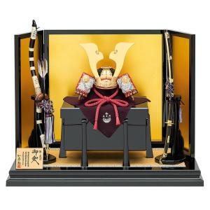 五月人形 真多呂 源義経 兜平飾り 兜飾り 加藤鞆美作 二分の一 兜飾りセット h305-mtk-024|2508-honpo