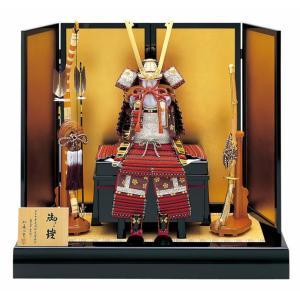 五月人形 真多呂 鎧平飾り 鎧飾り 加藤一冑作 三分の一 篭手臑当付 鎧飾りセット h305-mtk-029|2508-honpo