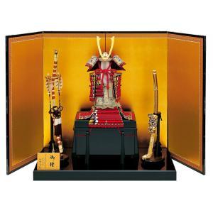 五月人形 真多呂 鎧平飾り 鎧飾り 加藤一冑作 二分の一 極上妻取 鎧飾りセット h305-mtk-031|2508-honpo