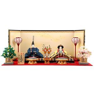 ひな人形 雛人形 久月 親王飾り 平飾り k-s-23533|2508-honpo