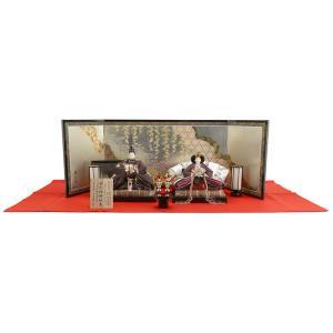 ひな人形 雛人形 親王飾り 平飾り kg-8053|2508-honpo