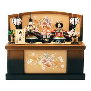 雛人形 ひな人形 収納飾り 親王飾り 西陣織 h263-kit-3141-2132|2508-honpo
