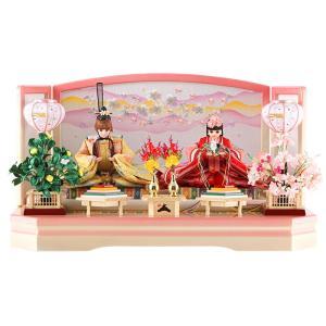 雛人形 リカちゃん 久月 ひな人形 平飾り 親王飾り シリアル入 h313-ri-244|2508-honpo