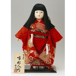 雛人形 スキヨ ひな人形 市松人形 寿喜代作 華鶴12-41 金襴 12号 h303-sk-12-41|2508-honpo