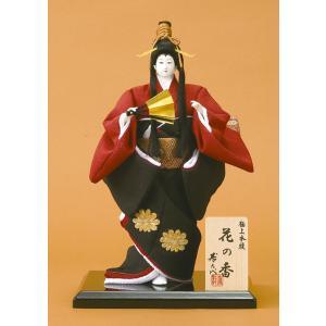 日本人形 尾山人形 人形単品 寿喜代作 極上本頭 花の香 友禅 5号 sk-hananok520|2508-honpo